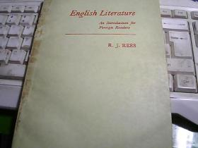English Literature An Introduction for Foreign Readers  英国文学--为外国读者介绍英国文学