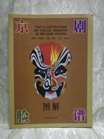 京剧脸谱图解(大16开,144页,盛华  绘谱,注文:常立胜 )