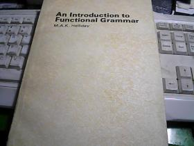 An Introduction to Functional Grammar 功能语法概论
