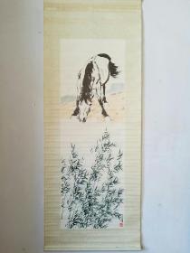 八十年代杨柳青年画徐悲鸿的马