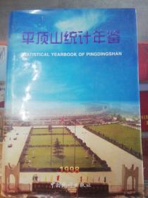 【 年鉴 】平顶山统计年鉴 1998年