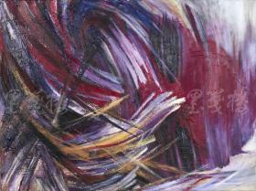 著名油画家、黑龙江省美协会员 王冬晖 2017年布面油画作品《无语》一幅(尺寸:60*80cm)HXTX103804