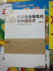 何新论金融危机与中国经济(有书腰)何新最新经济论集、品相以图片为准
