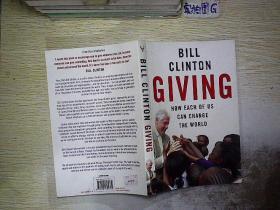 BILL CLINTON  GIVIN .