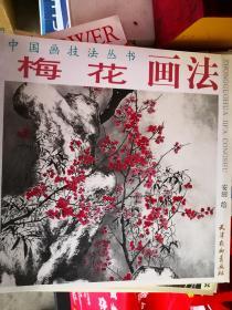 中国画技法丛书:梅花画法【车库】北3