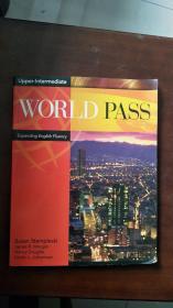WORLD PASS Expanding English Fluency【实物图片,书角有污渍】
