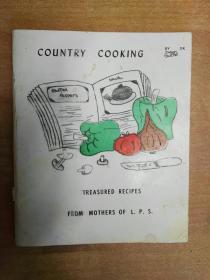 Country Cooking (英文版  乡村食谱 98页)TREASURED RECIPES