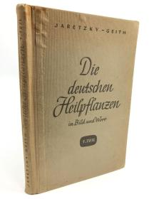 德文植物花卉图鉴年代20世纪初期,尺寸:24.5*16.5厘米