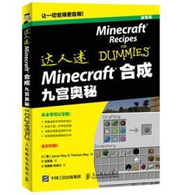 Minecraft 合成 九宫奥秘 正版 Jesse Stay  9787115416049