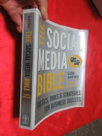 The Social Media Bible: Tactics, Tools, and Strategies for Business Success(THIRD EDITION)    (16开)  【详见图】