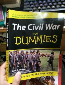 英文原版 The Civil War For Dummies