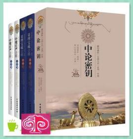 中观庄严论释+量理宝藏论释+中论密钥(全5册)索达吉堪布佛学书
