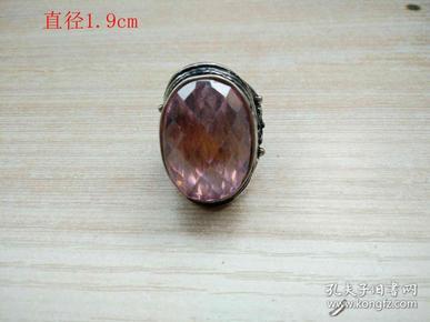 清代天然黄宝石戒指30