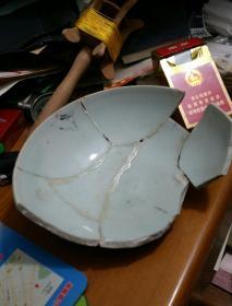 元代青瓷碗标本