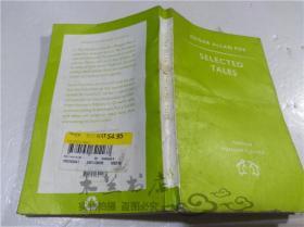 原版英法德意等外文书 SELECTED TALES EDGAR ALLAN POE PENGUIN BOOKS 1994年 小32开平装