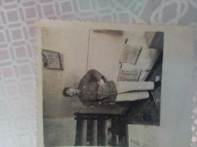 老照片   1968年赠战友  背面有赠诗