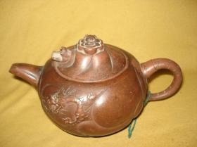 小苏(款)鱼化龙紫砂壶