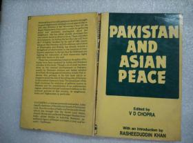 PAKISTAN AND ASIAN PEACE EDITED BY V.D.CHOPRA