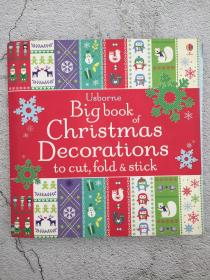 Big Book of Christmas Decorations to Cut, Fold & Stick 剪、折、贴圣诞装饰品大书