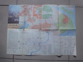 1983年上海旅游地图