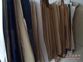 大学老资料档案一大批,非常珍贵,如图所示,有大批的教授墨迹,