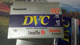 Panasonic/松下 DVC(磁带、录像带)10盘合售,未拆封