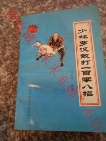 少林罗汉散打一百零八招 刘玉增 1993年 187页 85品