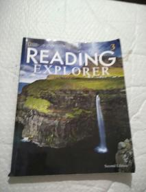 Reading Explorer 3: Student Book with Online Workbook 书内有少许画线,看图