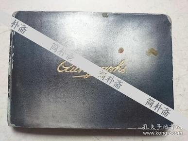 民国一位四川省女学生的毕业留言本,有民国四川省立成都中学饶德滋(中国现代诗人流沙河的老师)签名题词