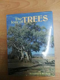 英文原版书:The love of trees (大16开精装)