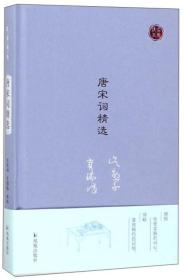 唐宋词精选/名家视角丛书