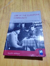 LAW OF THE EUROPEAN  COMMUNITY