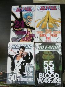 BLEACK(24、36、50、55)四本合售