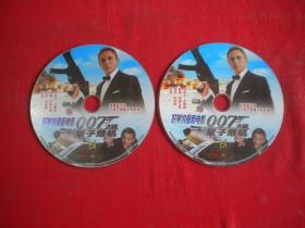 《007大破量子危机》,DVD2张,北京音像出品10品,N308号,影碟