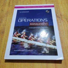 Operations Management: Contemporary Concepts and Cases[运营管理:当代概念与案例]第2版 原版  带光盘