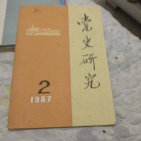 党史研究  1987.2期