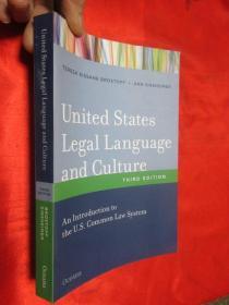 United States Legal Language and Culture: ...      【详见图】