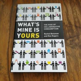 Whats Mine is Yours: The Rise of Collaborative Consumption