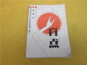 盲点(现代台湾文学史参考资料第一辑9)