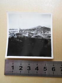 老照片【60年代,在南京鼓楼远望紫金山】