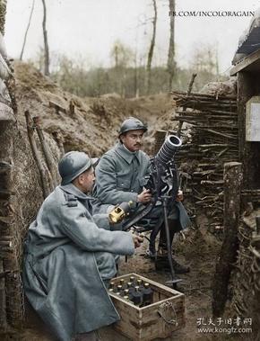 第一次世界大战时珍贵彩色照片5吋的21张
