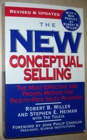英文原版书 The New Conceptual Selling: The Most Effective and Proven Method for Face-to-Face Sales Planning 平装本 2005 Revised and Updated