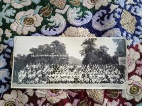 老照片:1955年6月24日 中华人民共和国林业部干部训练班全体学员结业纪念