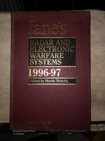 Jane's RADAR AND ELECTRONIC WARFARE SYSTEMS(1996--97)英文原版,8开精装本