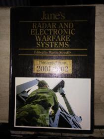 Jane's RADAR AND ELECTRONIC WARFARE SYSTEMS(Thirteenth Edition 2001--2002)英文原版,8开精装本