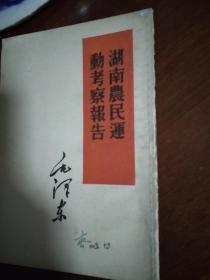 湖南农民运动考察报告
