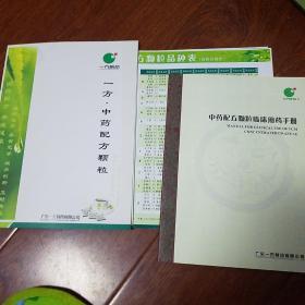 中药配方颗粒临床用药手册,颗粒品种表(广东一方制药有限公司)