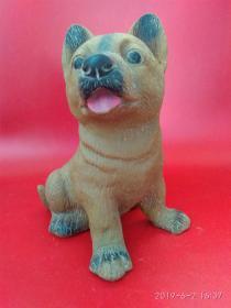传统儿童玩具 橡胶塑料皮狗,人类忠实的朋友(带狗哨)