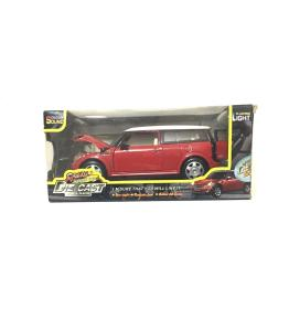 仿真合金模型车(型号867) 迷你古巴车(回力,IC带灯光)儿童玩具车