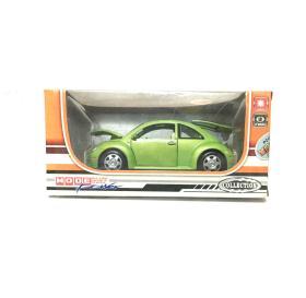 仿真合金模型车(型号893) 大众甲壳虫(回力,IC带灯光)儿童玩具车